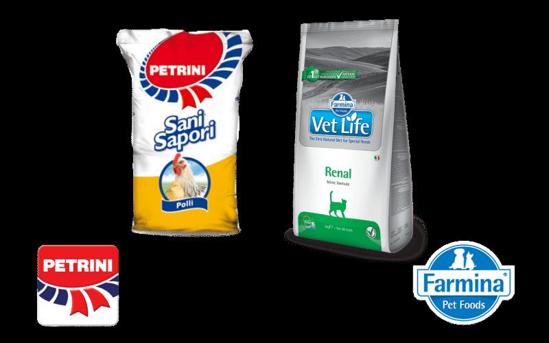 Mangimi per animali domestici - Giardinaggio Mura